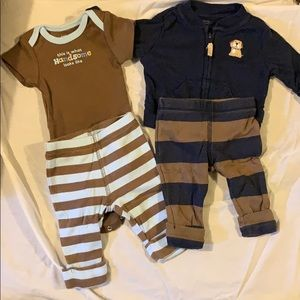 2 Carter's outfits